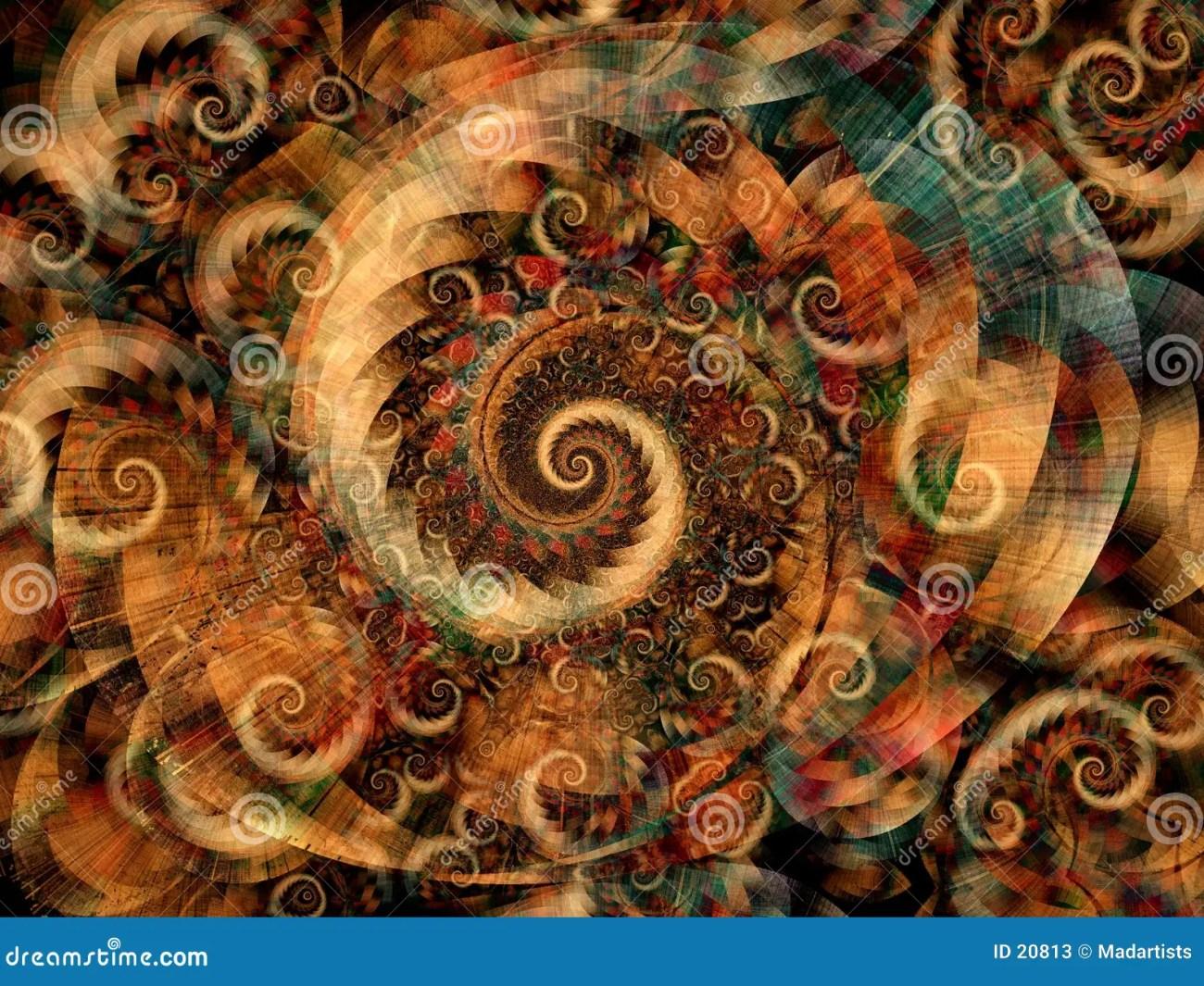 cool fractals swirls spirals stock photos - image: 20813