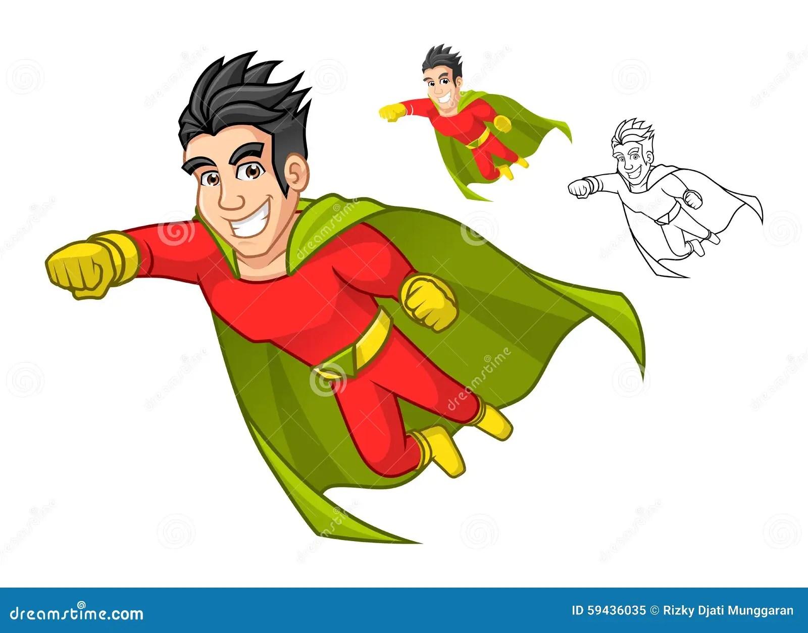 cool super hero cartoon