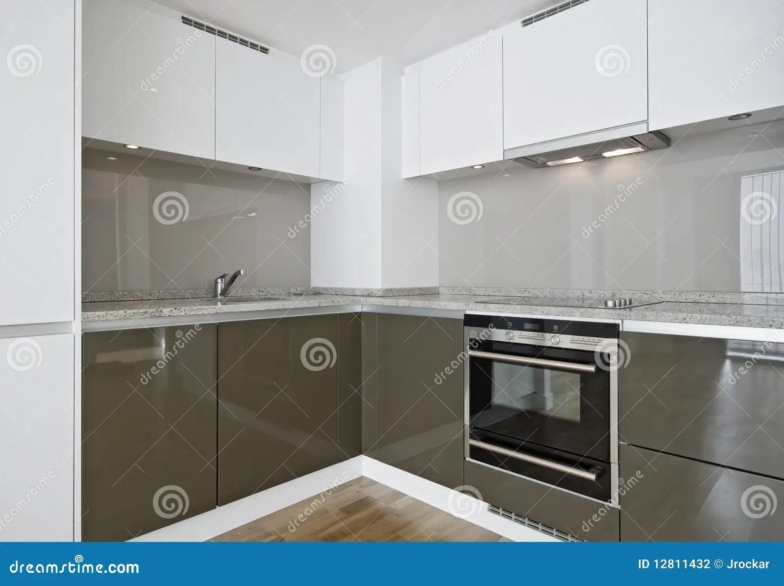 Corner kitchen unit stock photo Image of domestic hood