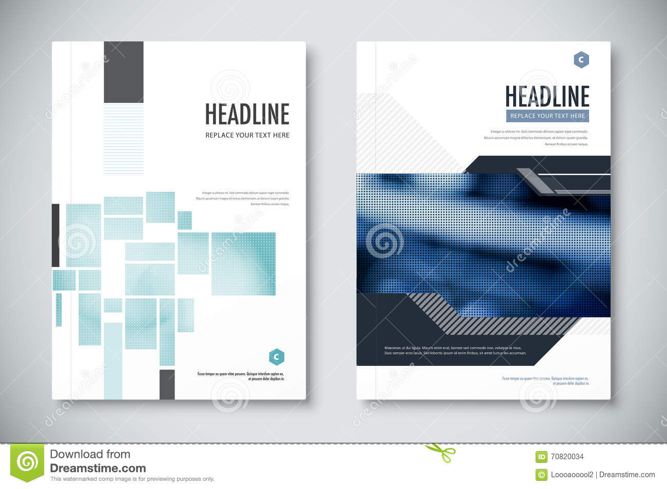 Corporate Annual Report Template Design Corporate