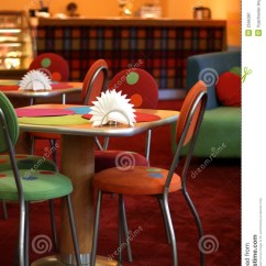 Chairs 4 Less Toddler Upholstered Rocking Chair Canada Cosy Cafe Stock Image. Image Of Company, Design, Meet - 2566381