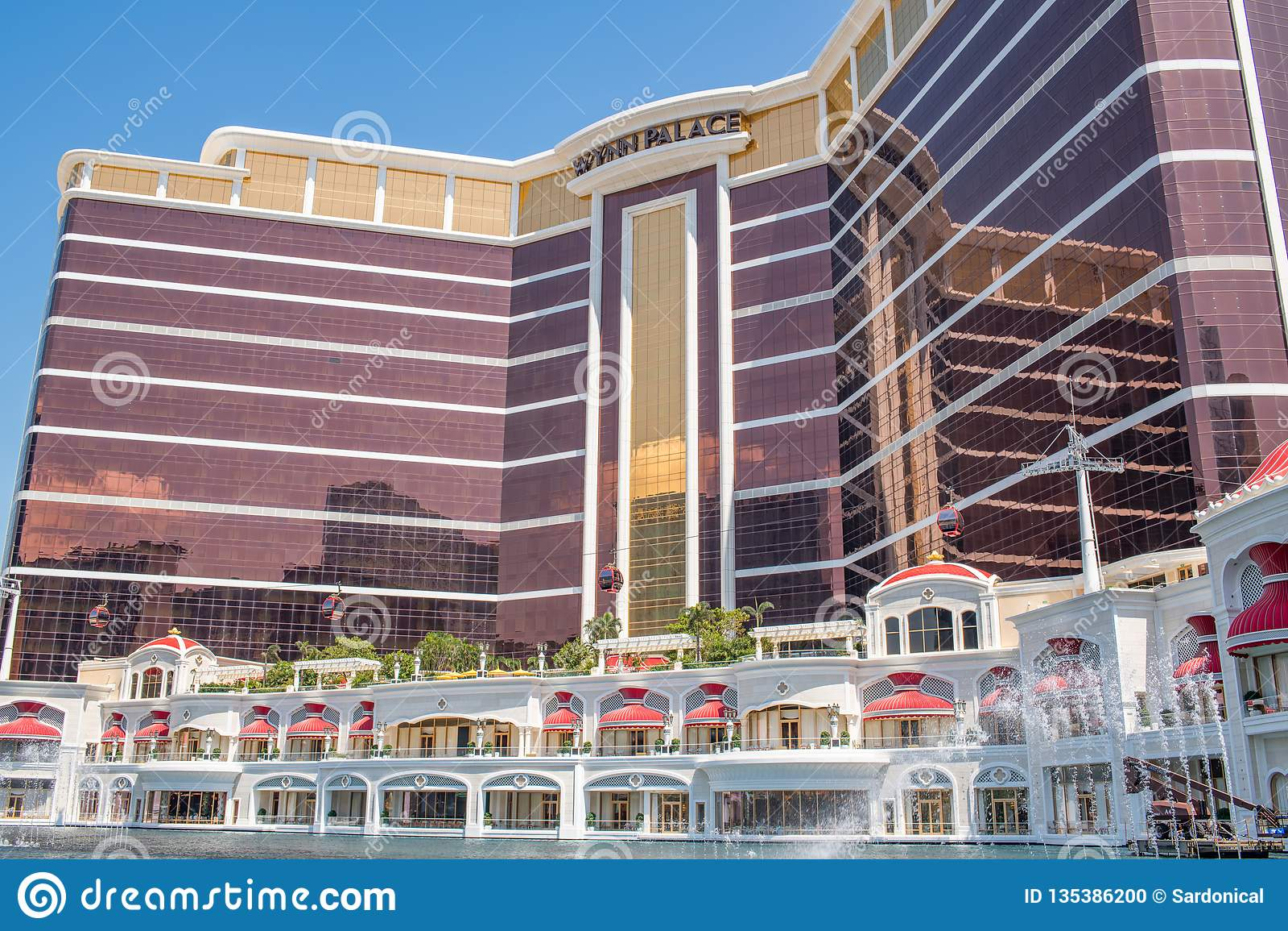 Wynn Palace In Cotai. Macau Editorial Image - Image of famous. 2018: 135386200