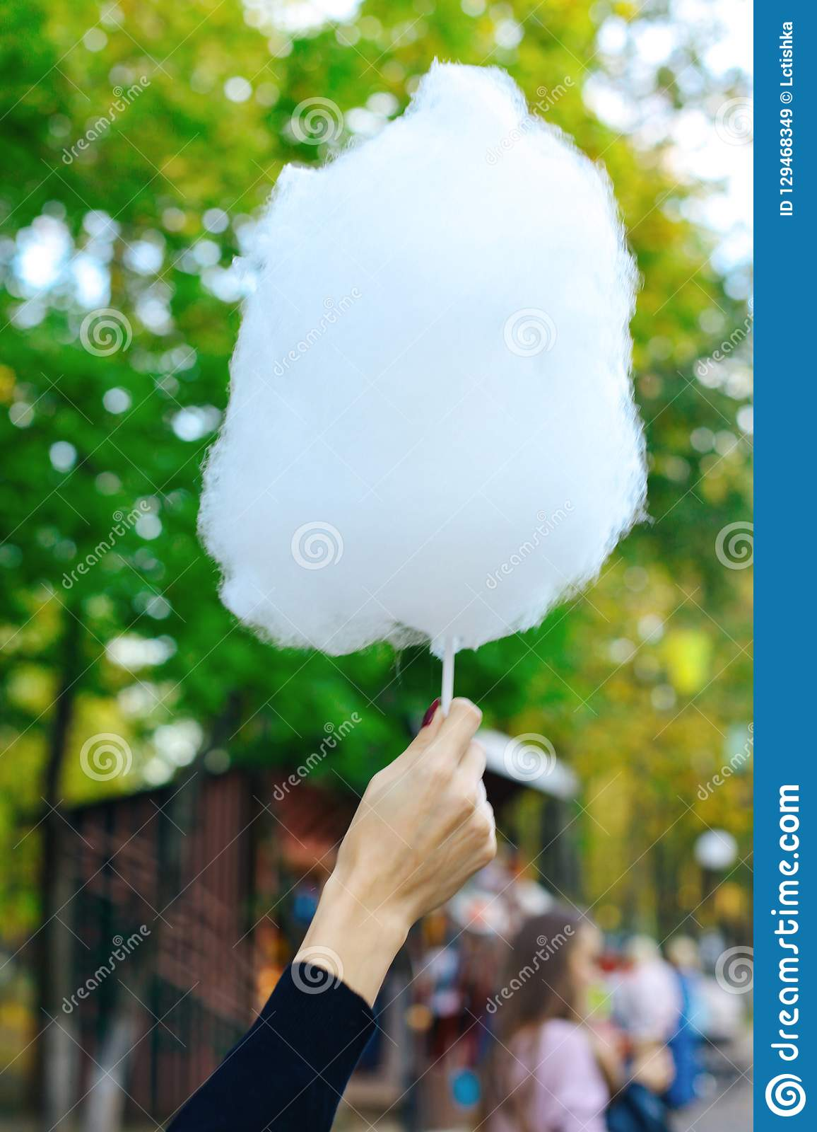 cotton candy in the