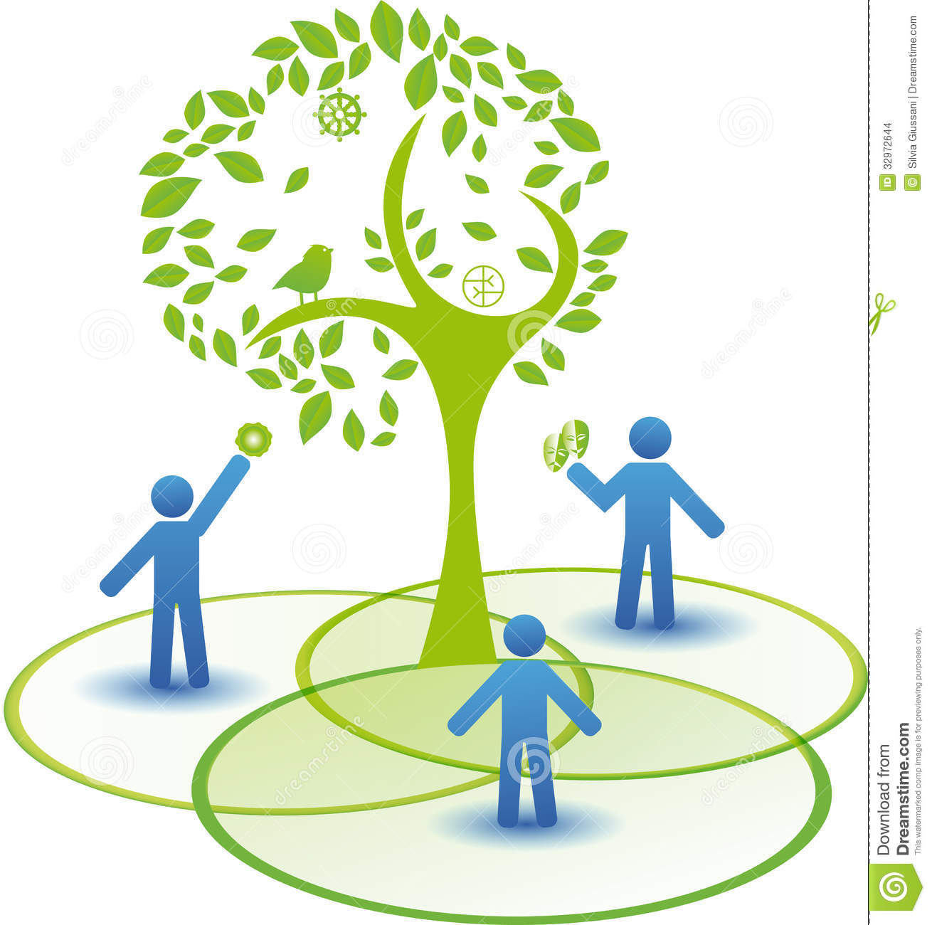 animated tree diagram whitetail deer vital area counseling concept stock images image 32972644