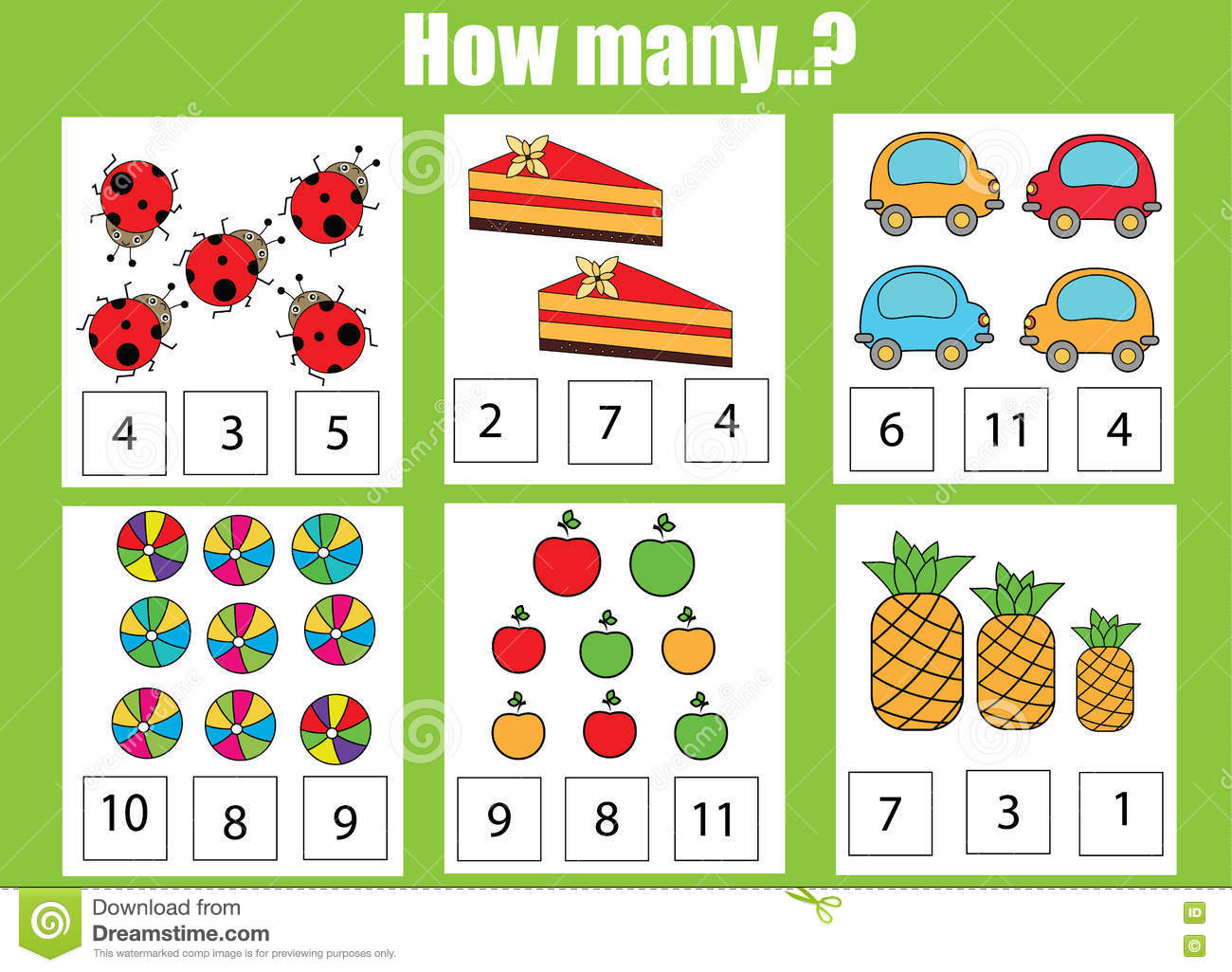 Counting To 2 Worksheet
