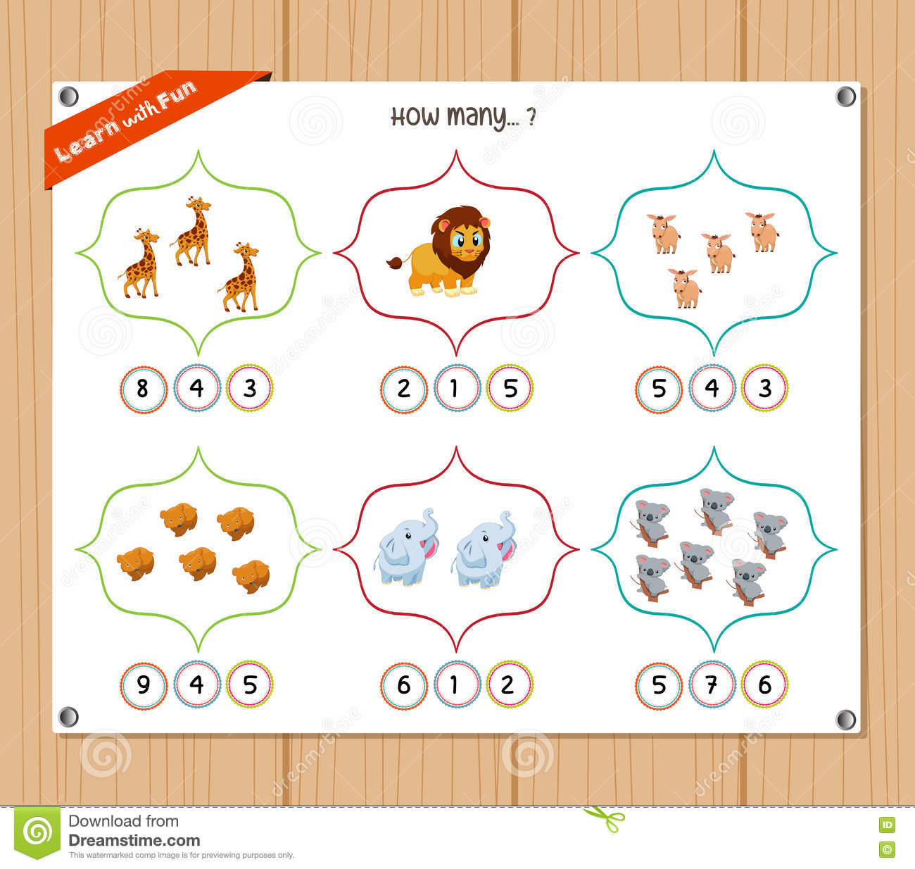 Counting Object For Kids