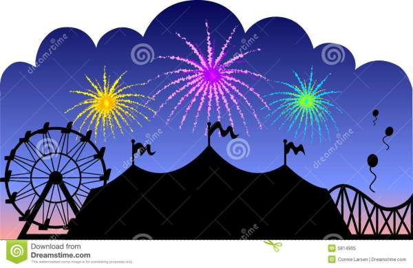 Country Fair Fireworks Eps Royalty Free Stock - 5814905