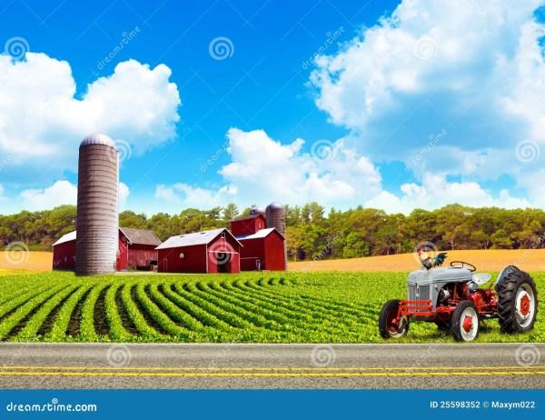 Country Farm Landscapes