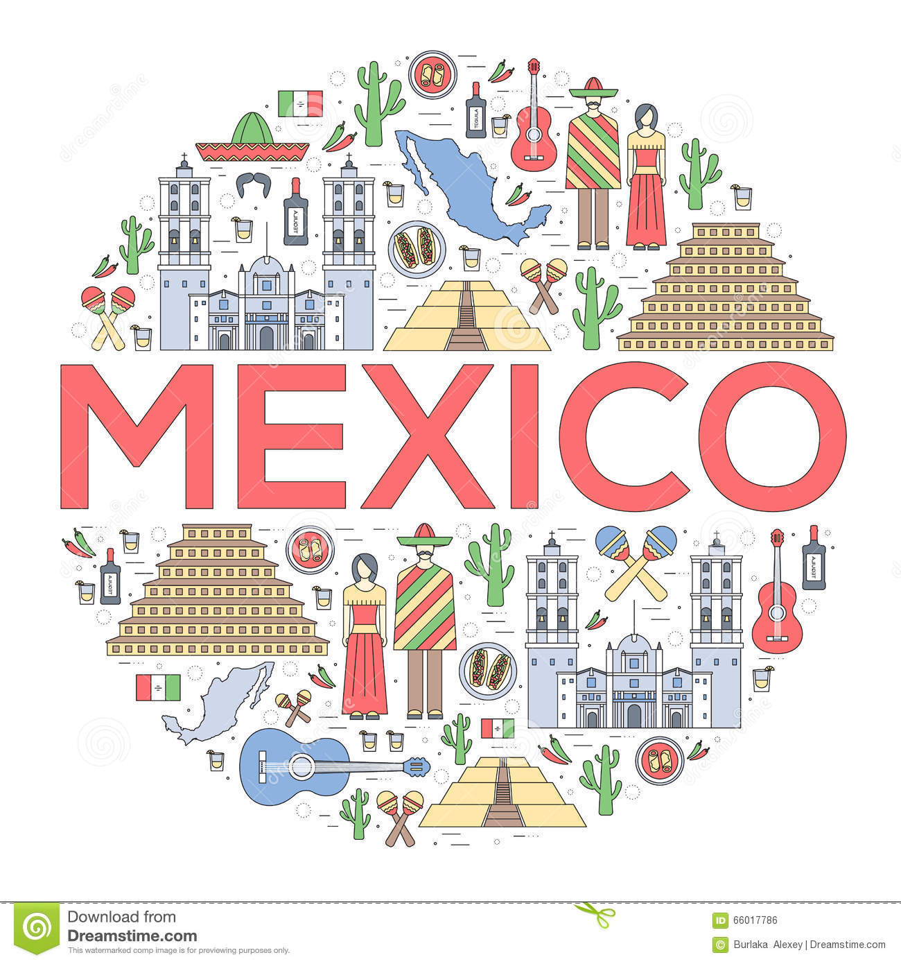 Country Mexico Travel Vacation Guide Of Goods Places And