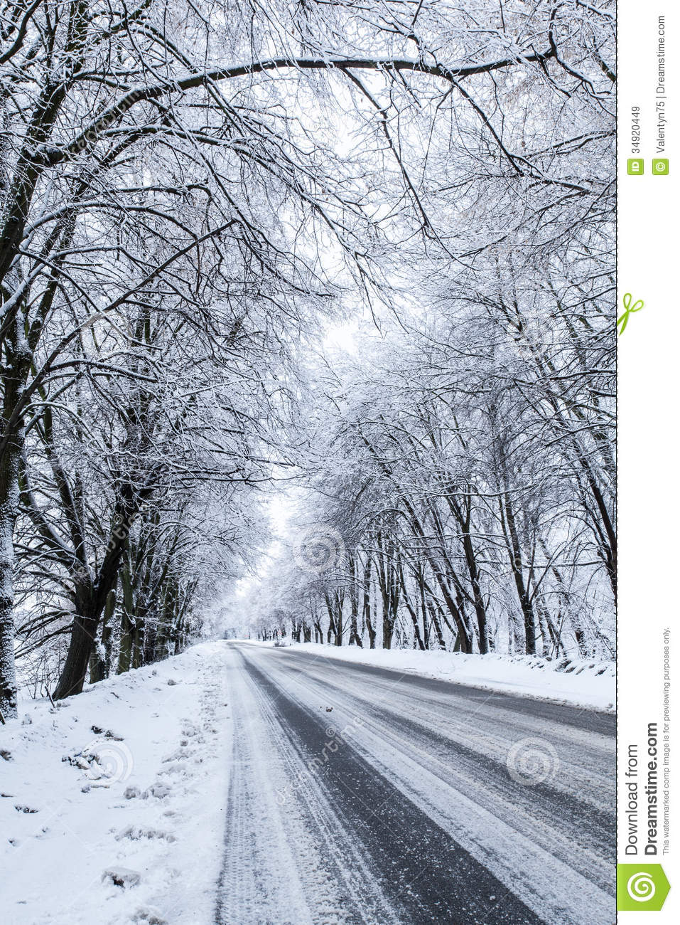 Free Download Of Christmas Wallpaper With Snow Falling Country Snow Road Royalty Free Stock Images Image 34920449