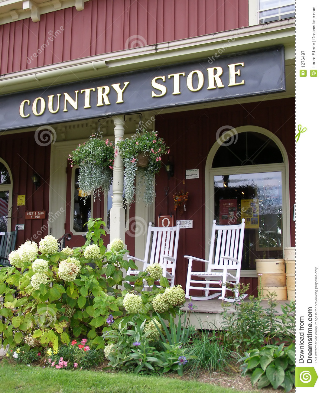 Country Store stock image Image of country entrance