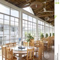 Cafe Chairs Wooden Tete A Chair Country Style Restaurant Stock Photo - Image: 59887766