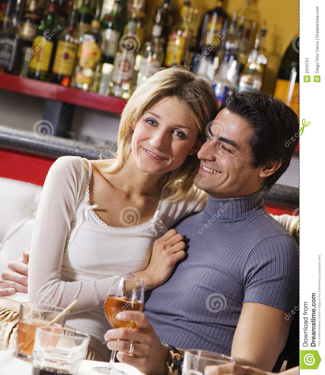 Couple Having Fun Together Stock Image Image Of Cheerful