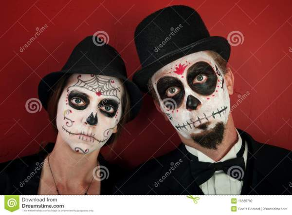 20 Day Of The Dead Halloween Makeup For Men Pictures And Ideas On