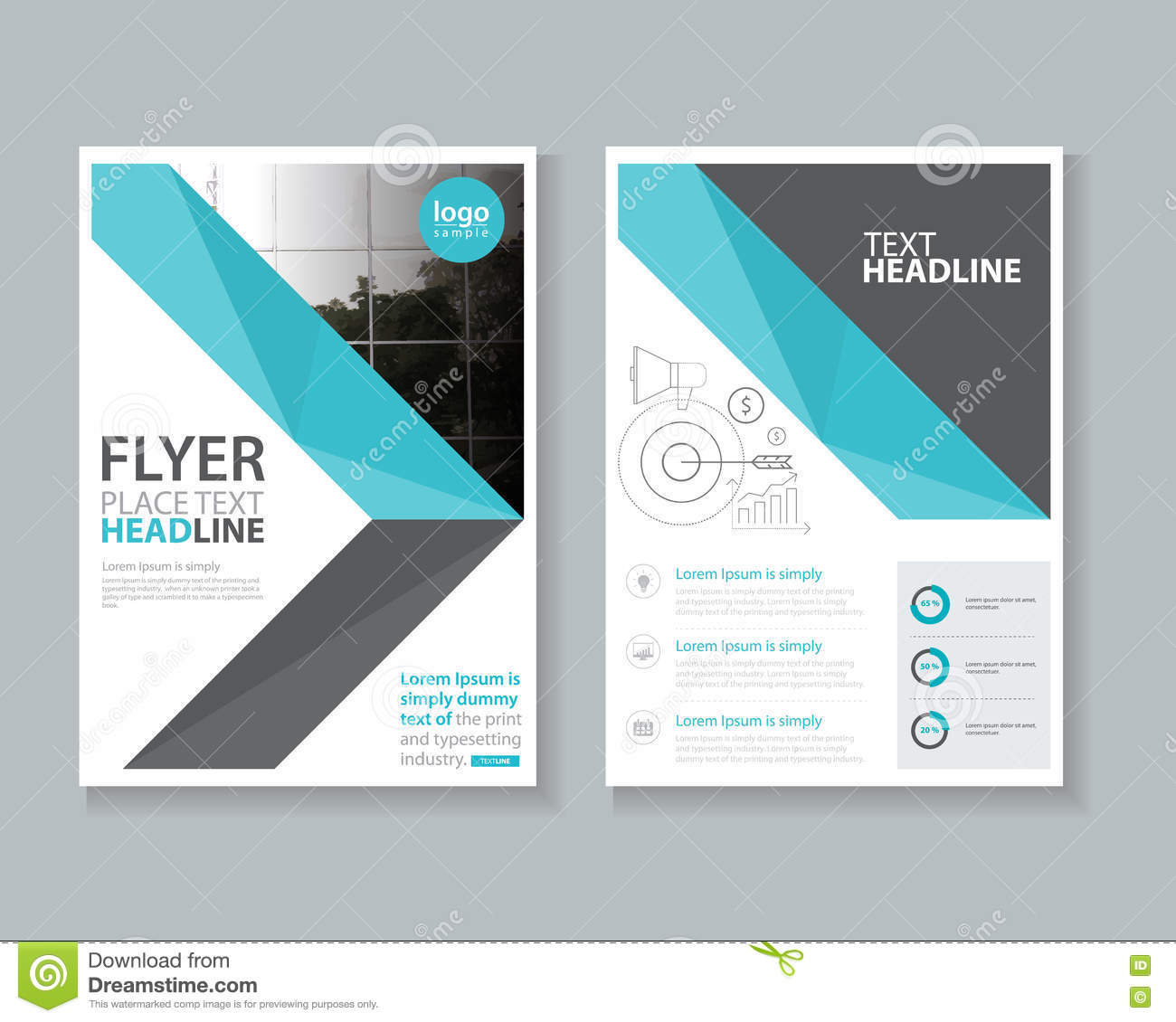 Report Cover Template Free Examples  Annual Report Cover Page Template