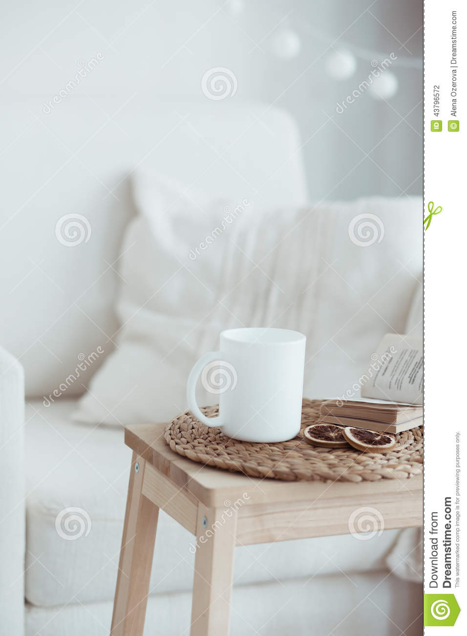 Cozy Interior Details Stock Photo Image Of Coffee Modern 43796572