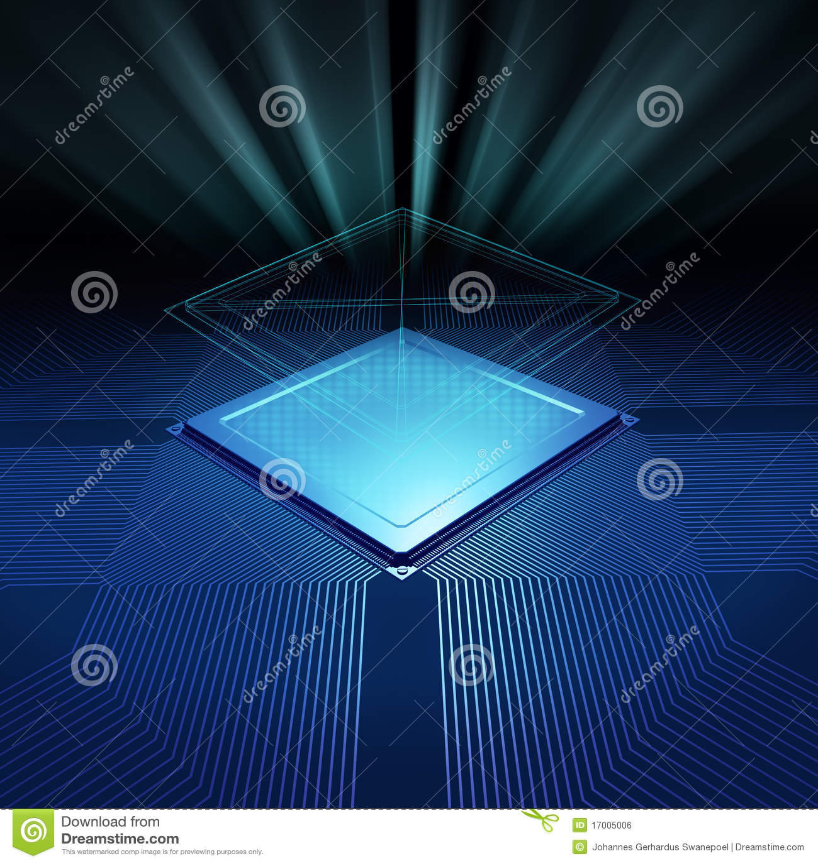 Cpu background stock photo Image of beam electronic