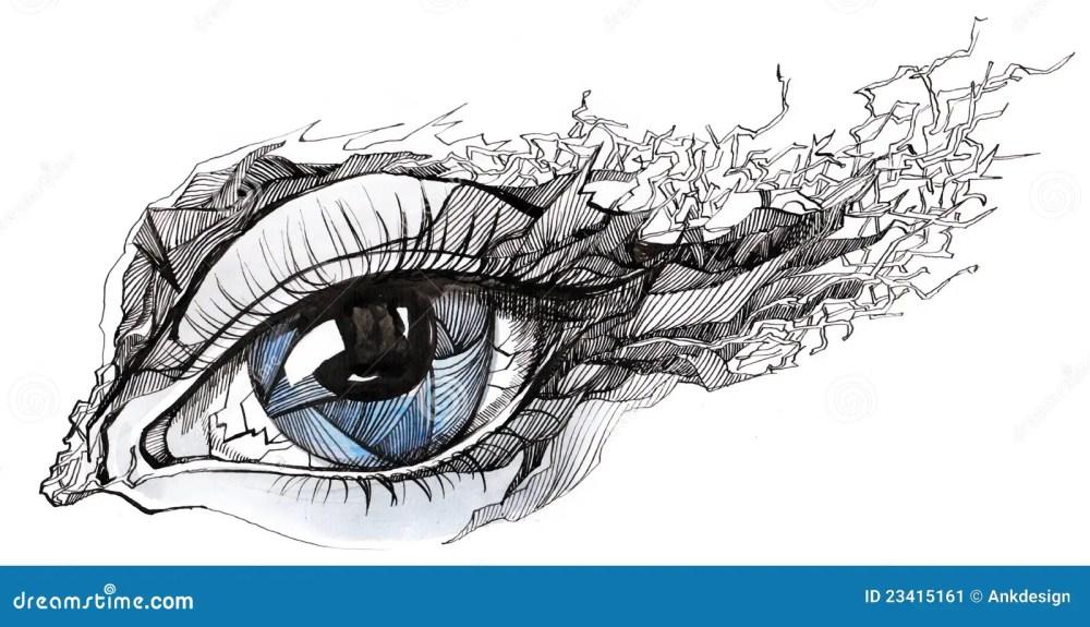 medium resolution of cracked eye