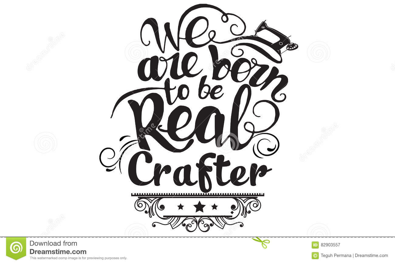 Craft Vector Quote Stock Vector Illustration Of Carpentry 82903557