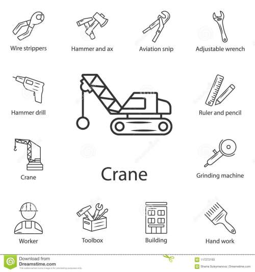 small resolution of crane icon simple element illustration crane symbol design from construction collection set can