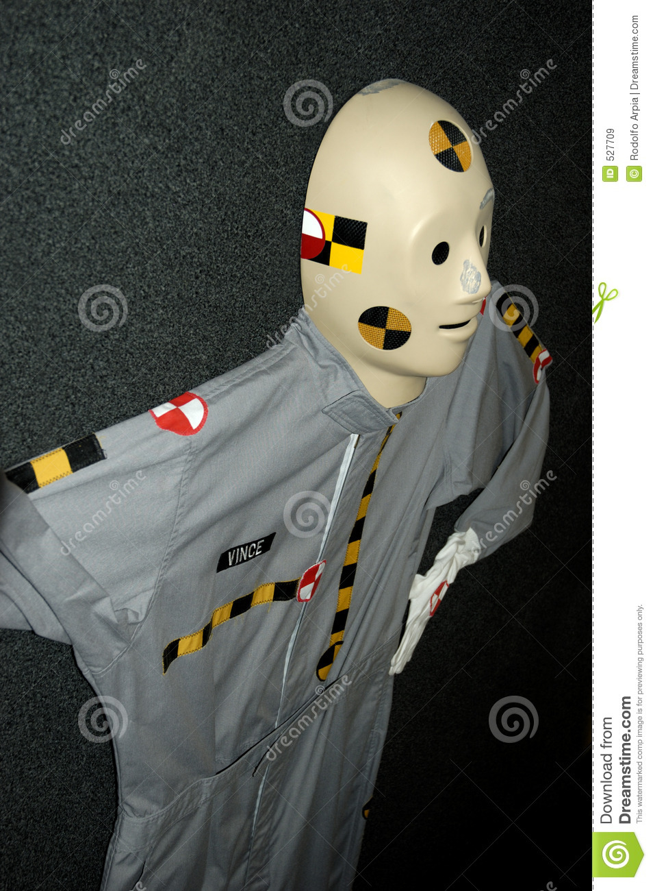 Crash Test Dummy stock image Image of dummy automotive  527709