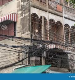 crazy wiring in bangkok [ 1300 x 895 Pixel ]
