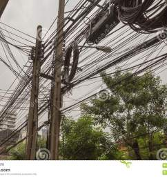 crazy wiring in bangkok [ 1300 x 886 Pixel ]