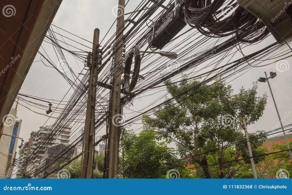 medium resolution of crazy wiring in bangkok