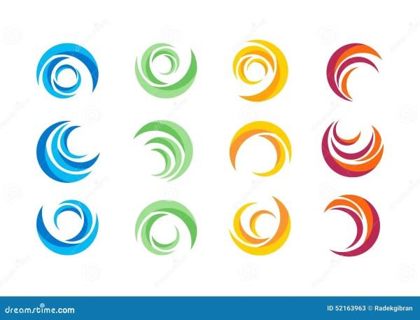 Circle Logos Designs Vector