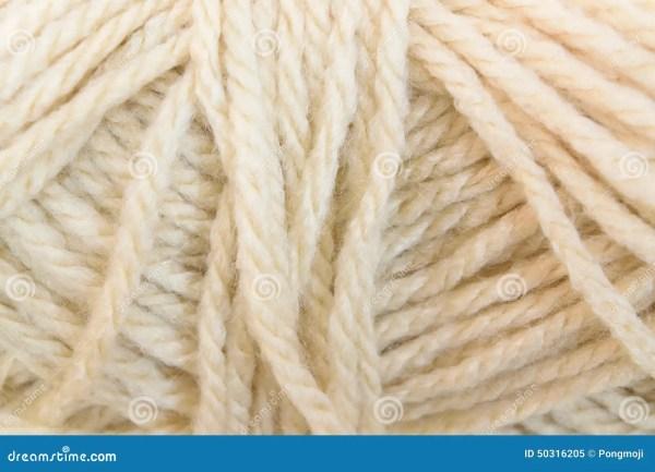 Cream Yarn Texture Stock Photo Image 50316205