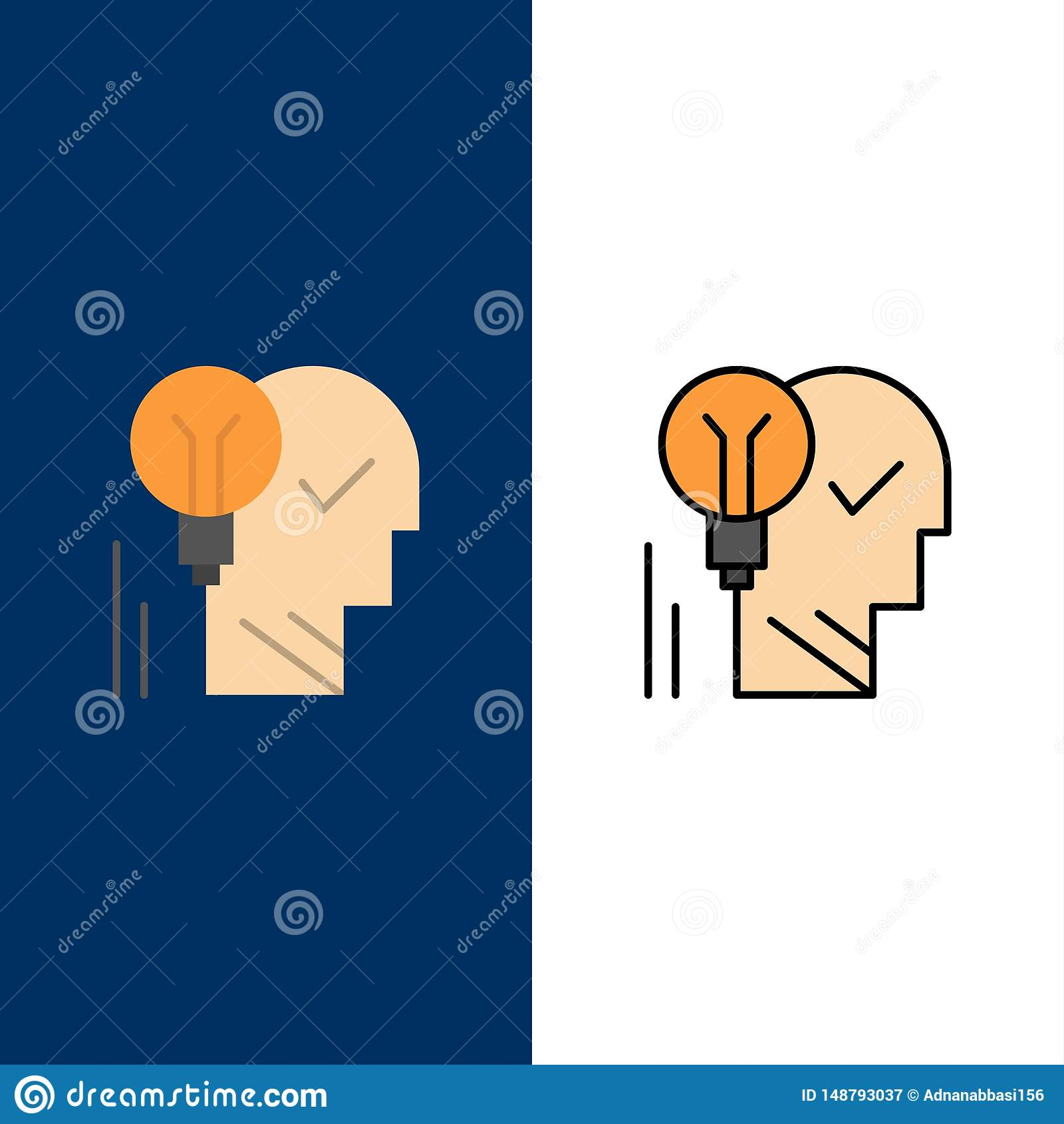 Creative Brain Idea Light Bulb Mind Personal Power