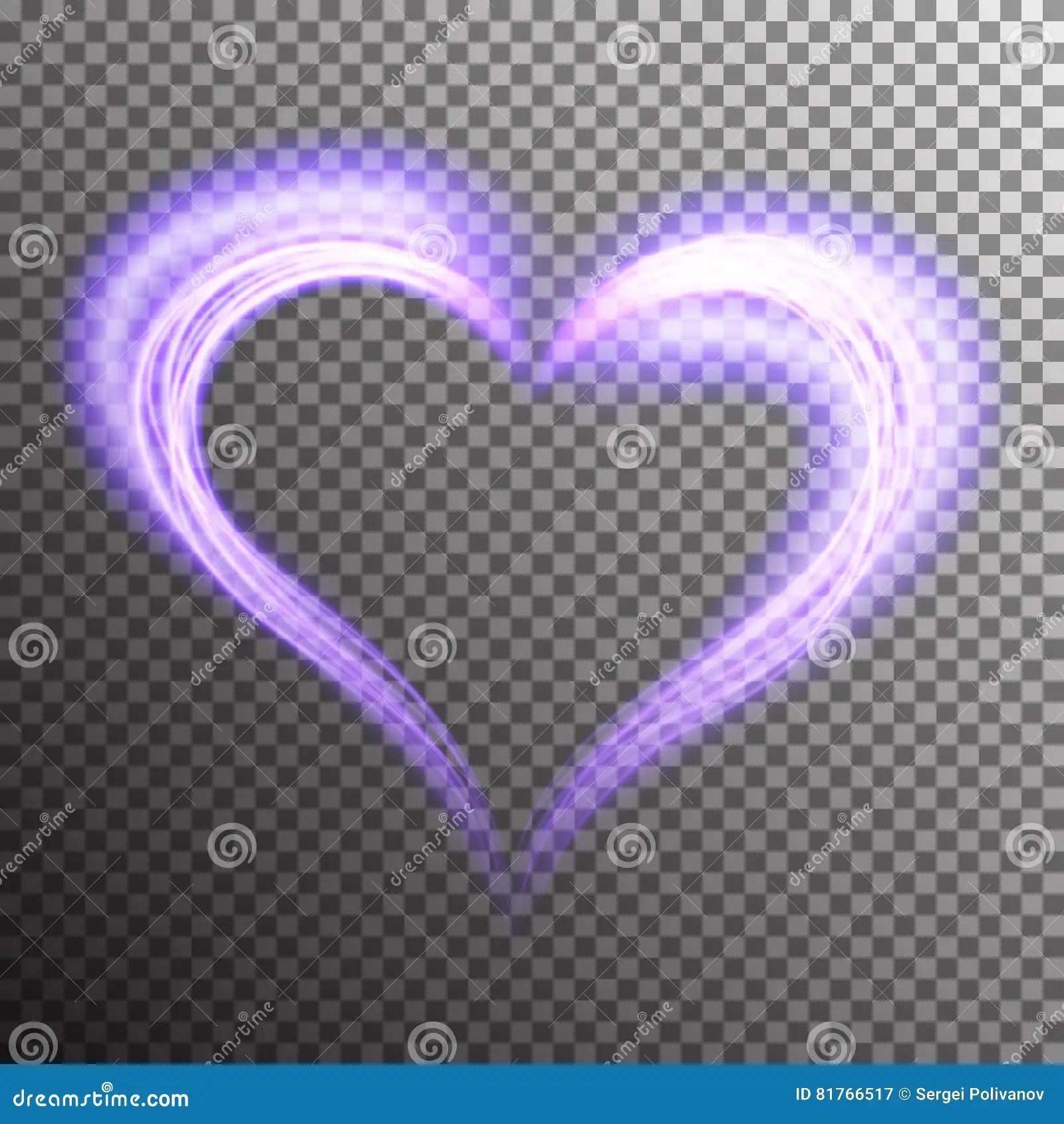 Creative Shiny Heart Shape Stock Vector Illustration Of