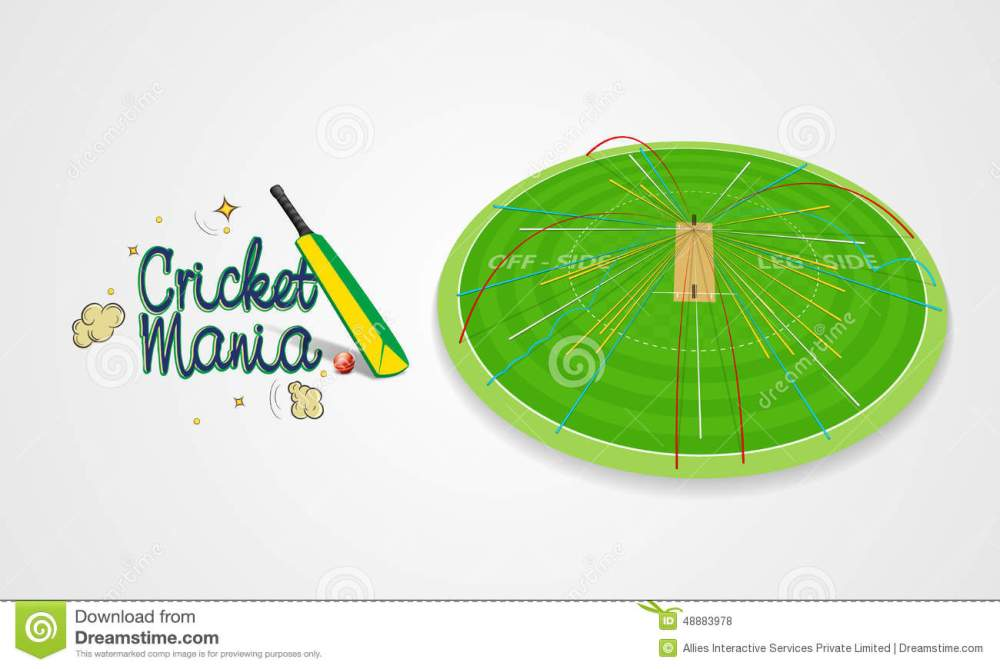 medium resolution of cricket sports concept with bat and ball shot