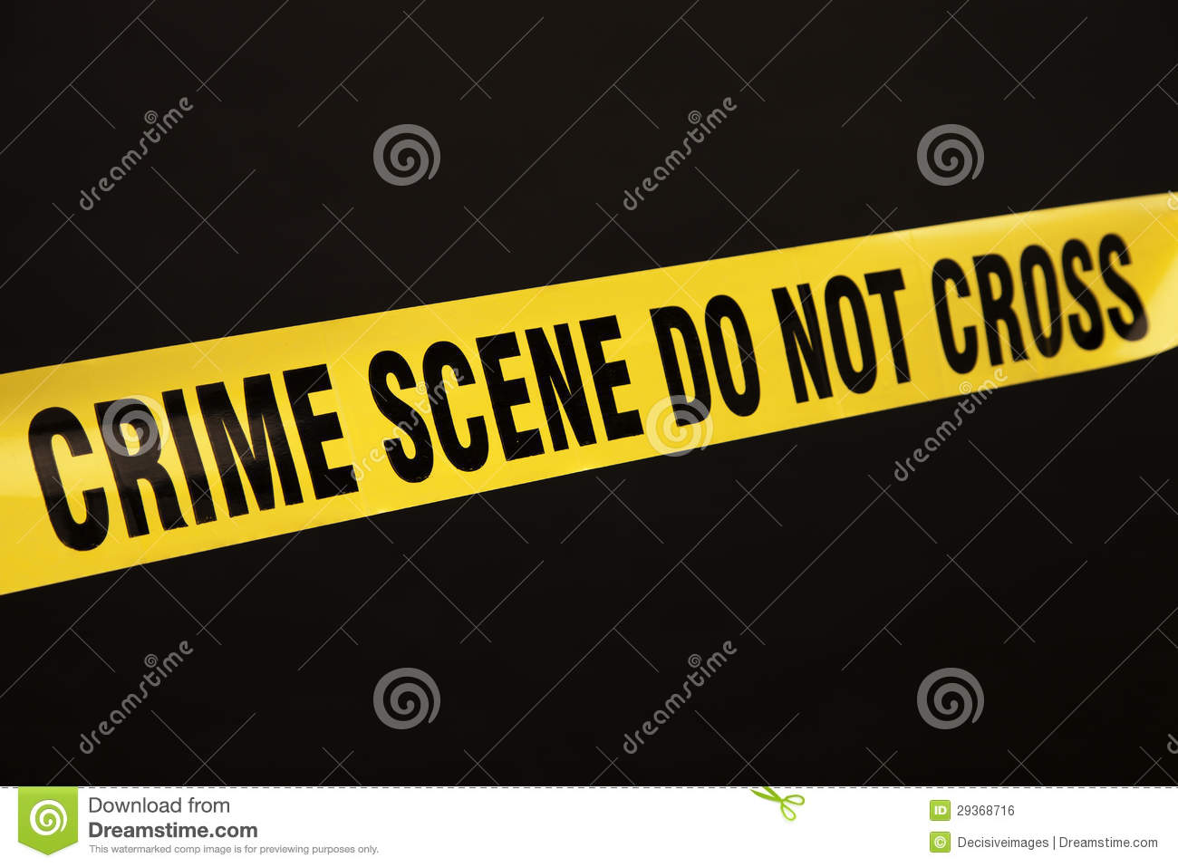 Crime Scene Tape Stock Photo Image Of Barrier Evidence