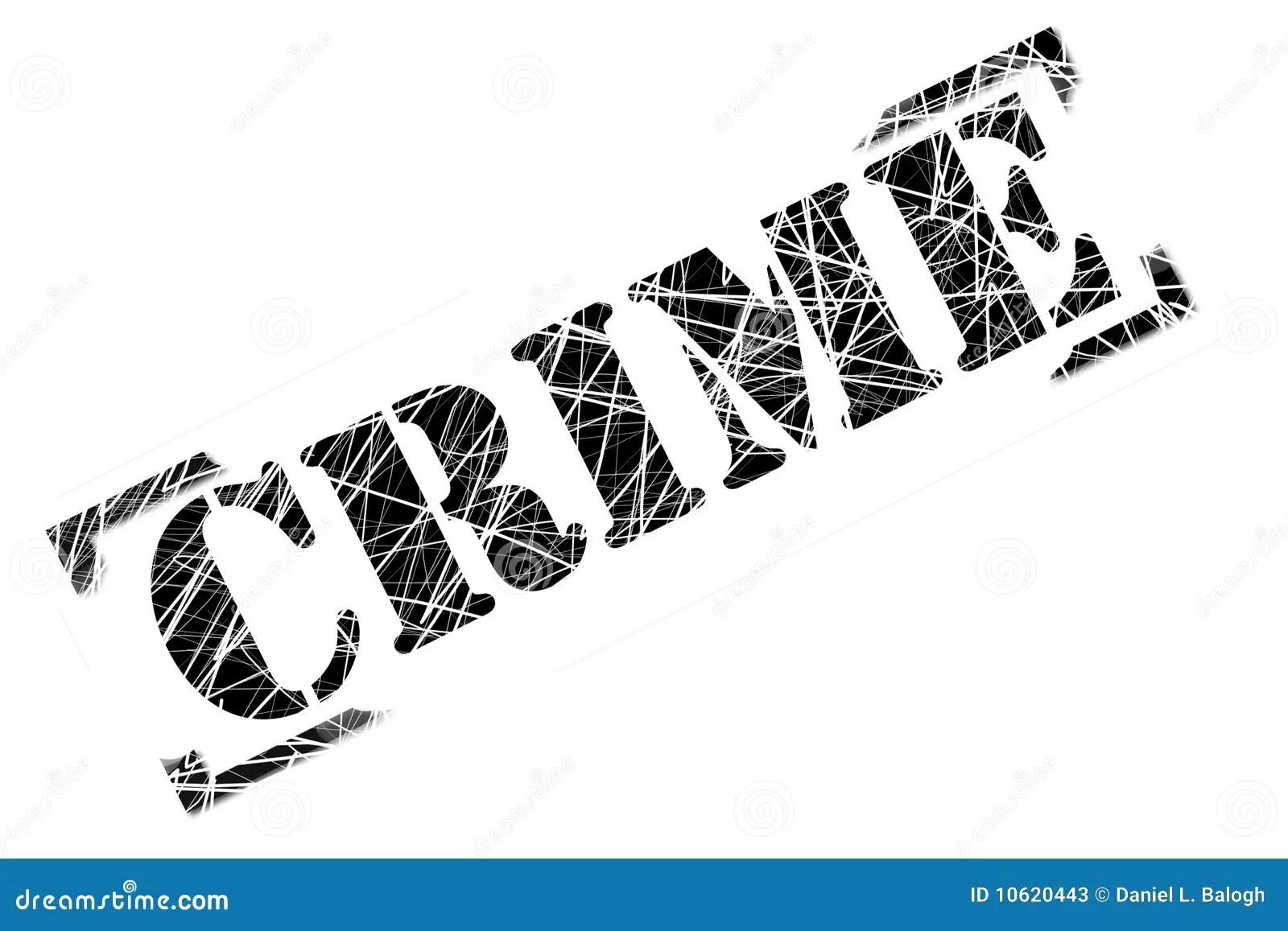Crime Stamp Stock Illustration Illustration Of Skandal