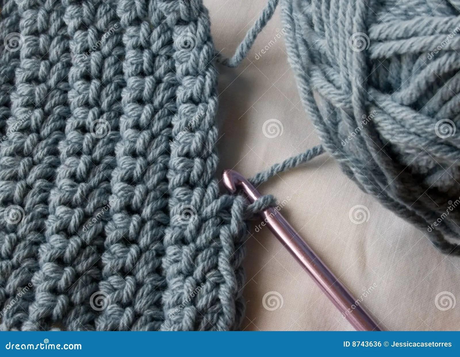 Crochet Stitches stock photo Image of crochet closeup
