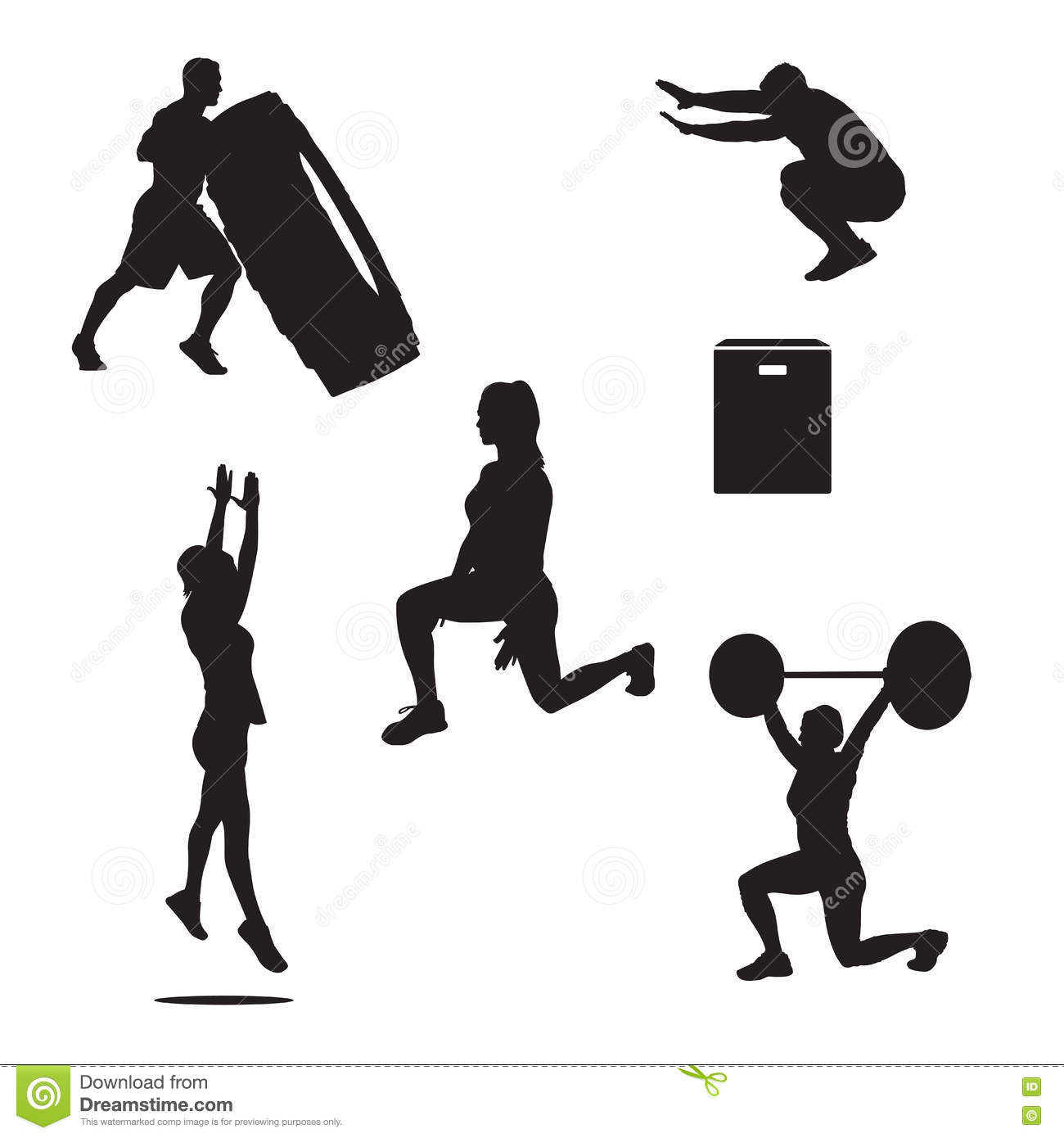 Powerlifting Cartoons Illustrations Amp Vector Stock Images