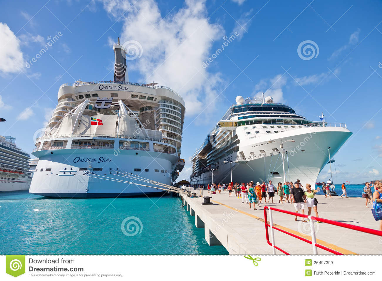 cruise port in st