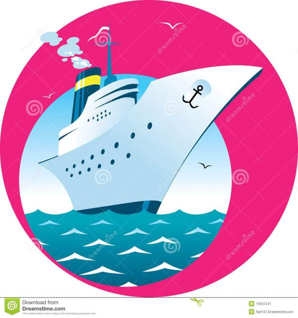 Cruise Ship Stock Vector. Of Vacations Vessel - 14047241