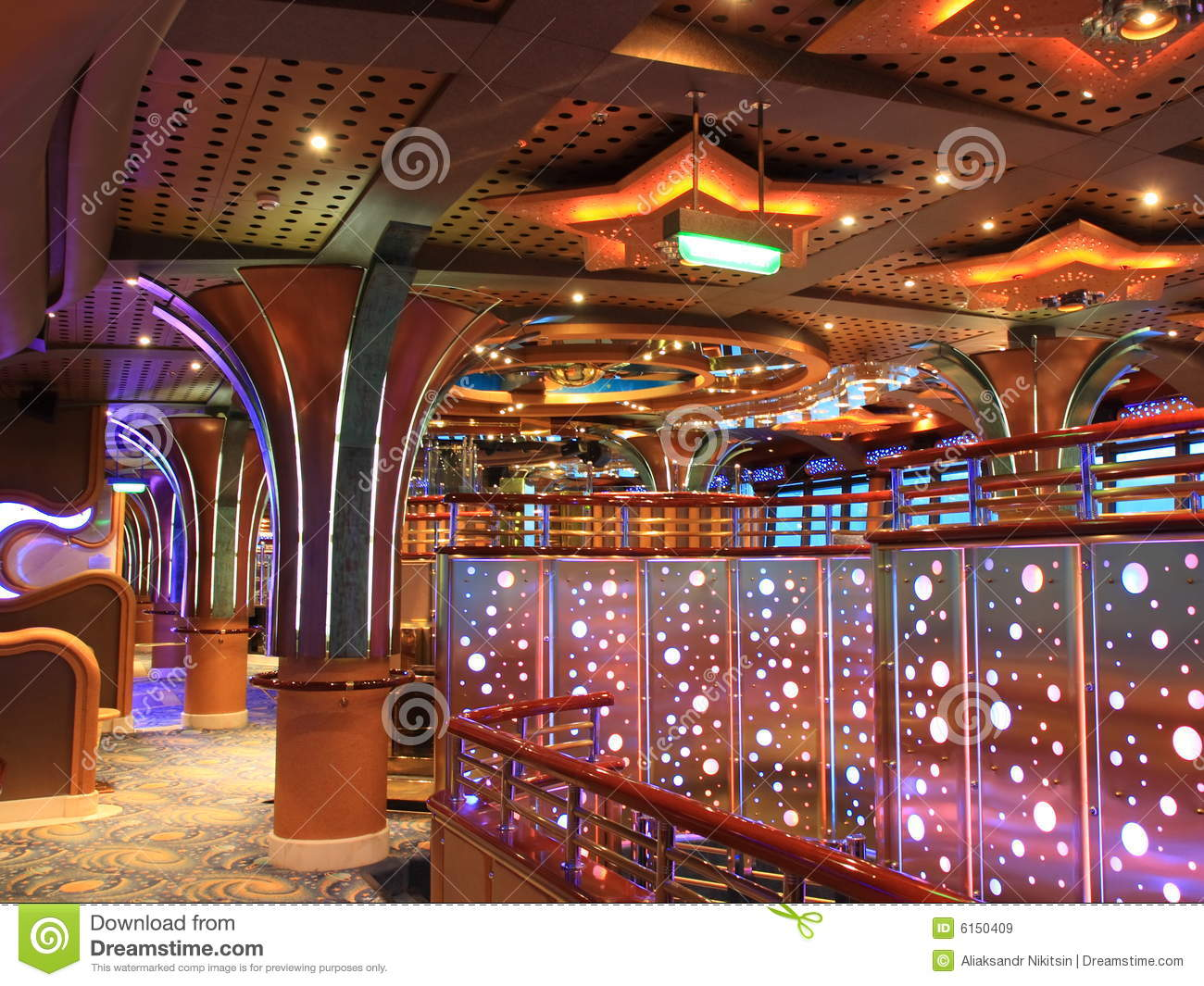 Cruise Ship Interior Royalty Free Stock Images  Image 6150409