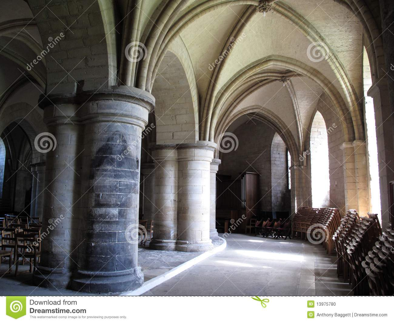 Crypt Of Canterbury Cathedral Stock Photo  Image of