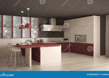 Cucina Bianca E Rossa | Cucina Moderna Rossa