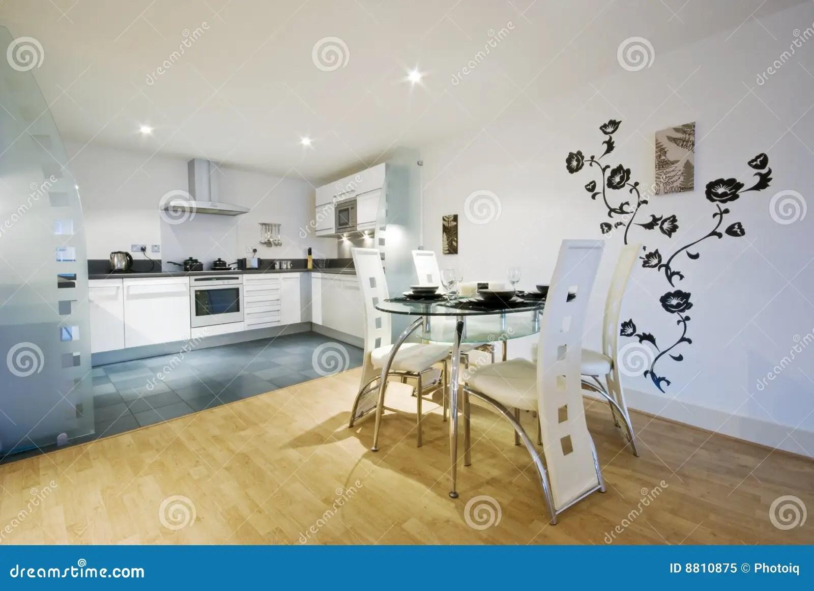 Cucina E Sala Da Pranzo Del Progettista Immagine Stock  Immagine 8810875