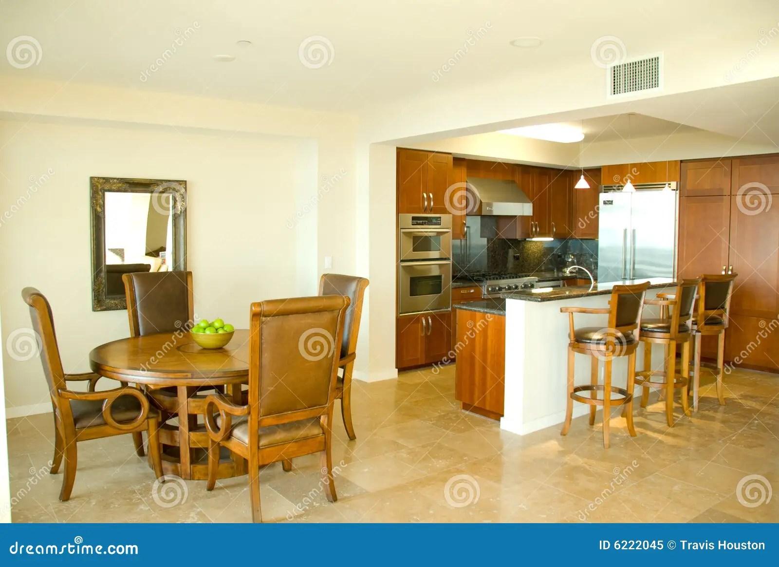 Cucina E Sala Da Pranzo Gastronomiche Del Progettista Immagine Stock  Immagine 6222045
