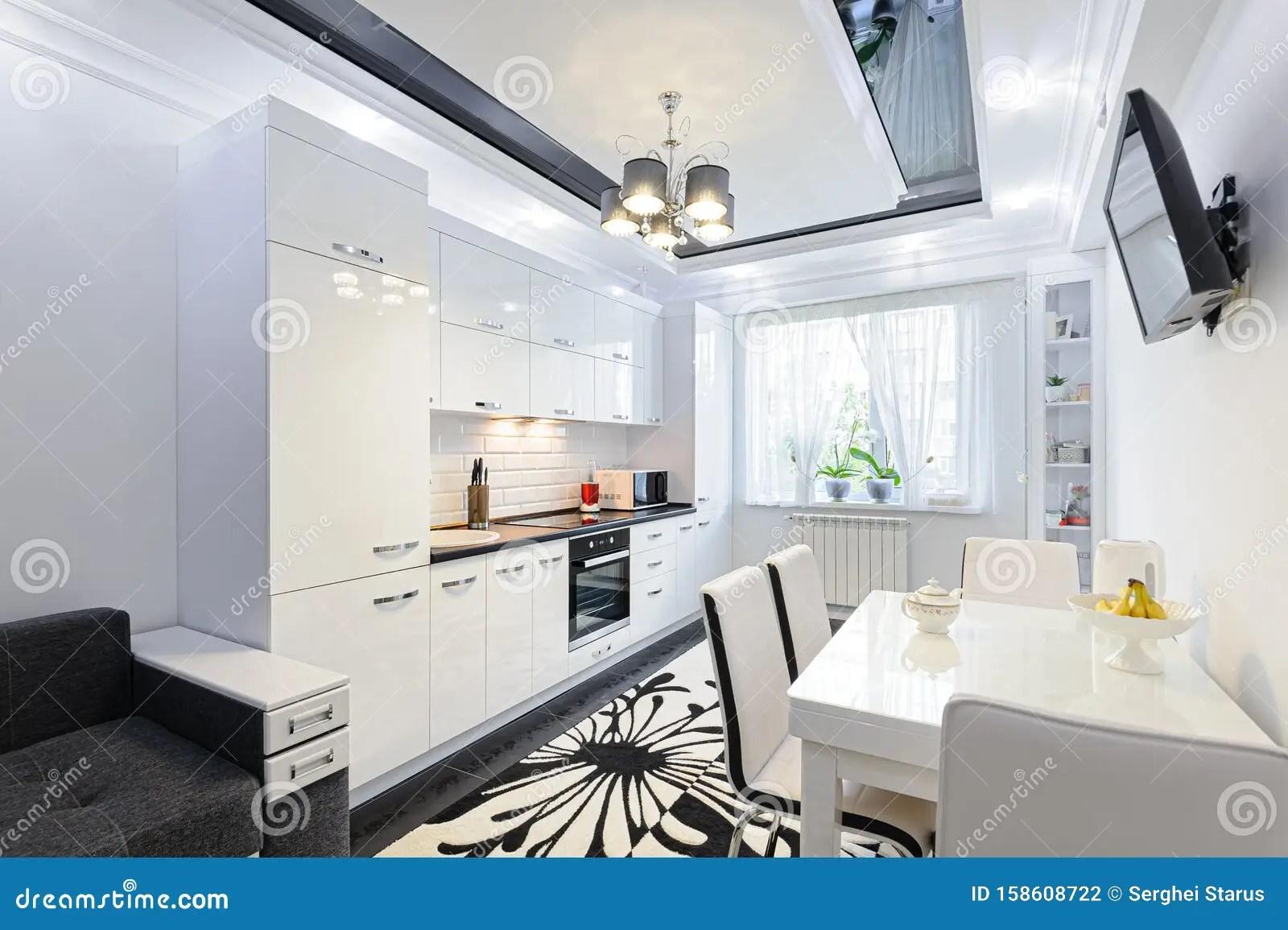 cuisine moderne et moderne interieure