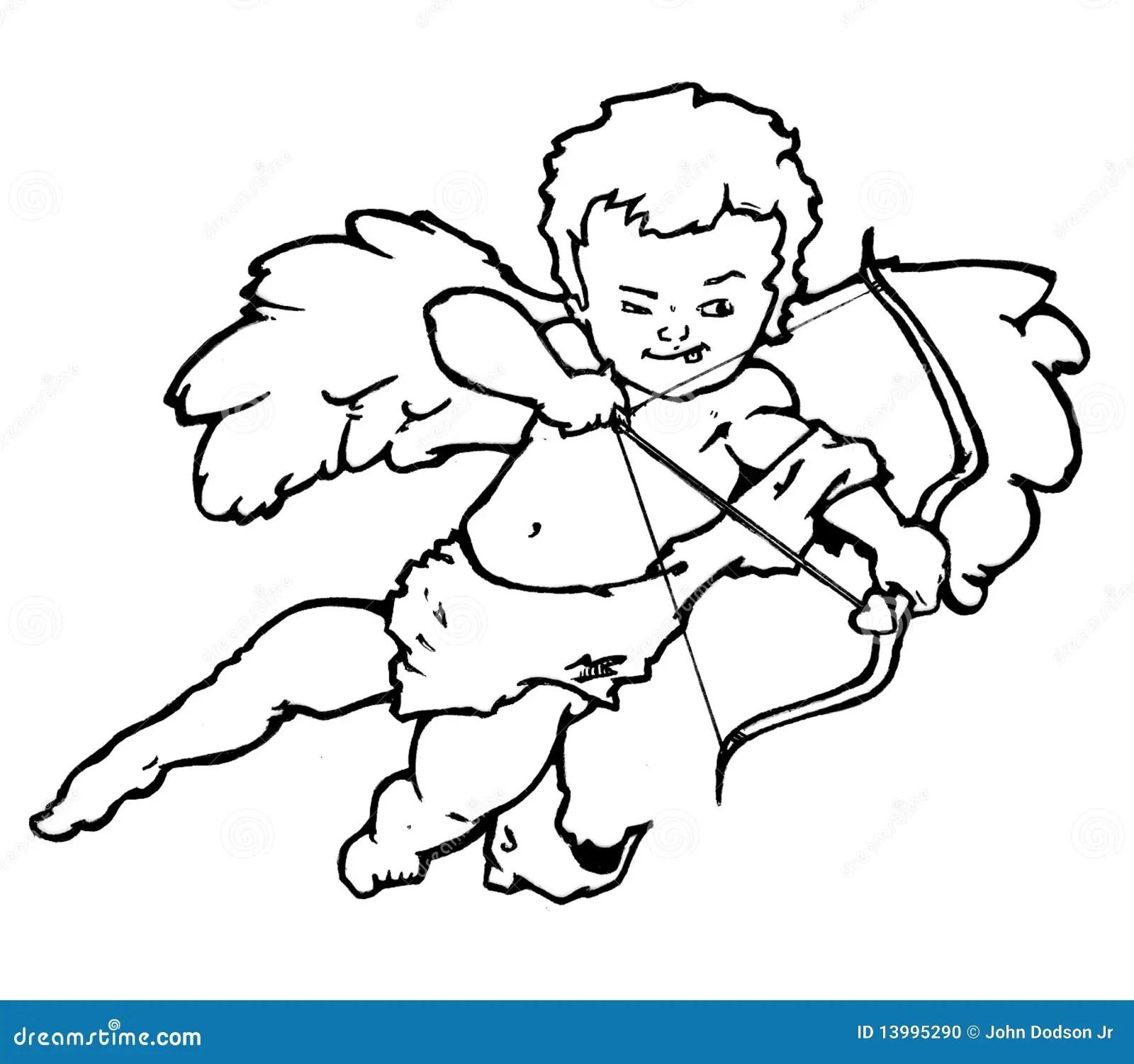 Cupidon D Ange Illustration Stock Illustration Du Dessine