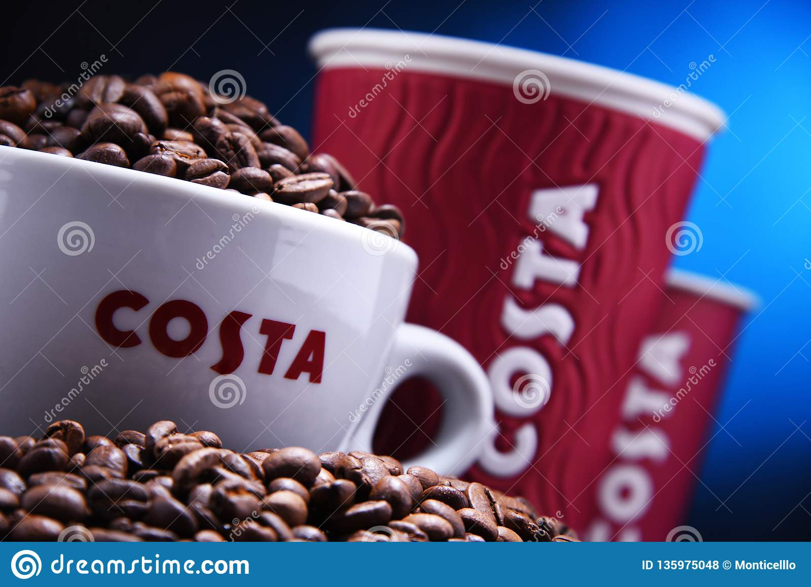 cups of costa coffee