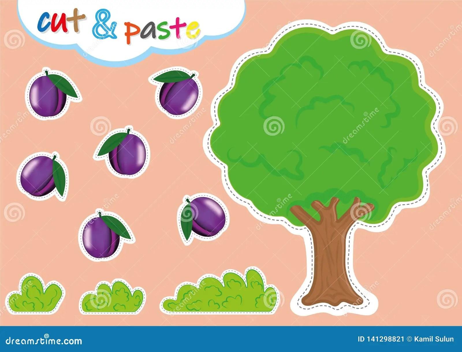 Cut And Paste Activities For Kindergarten Preschool