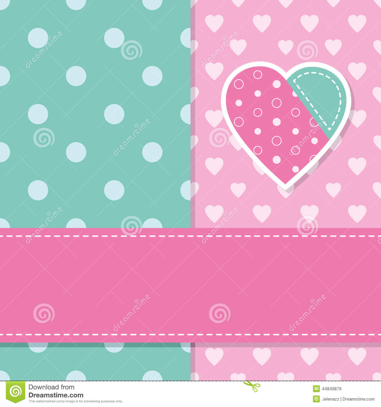 Cocoppa Wallpapers Girl Cute Baby Girl Greeting Card Stock Vector Image 44849879