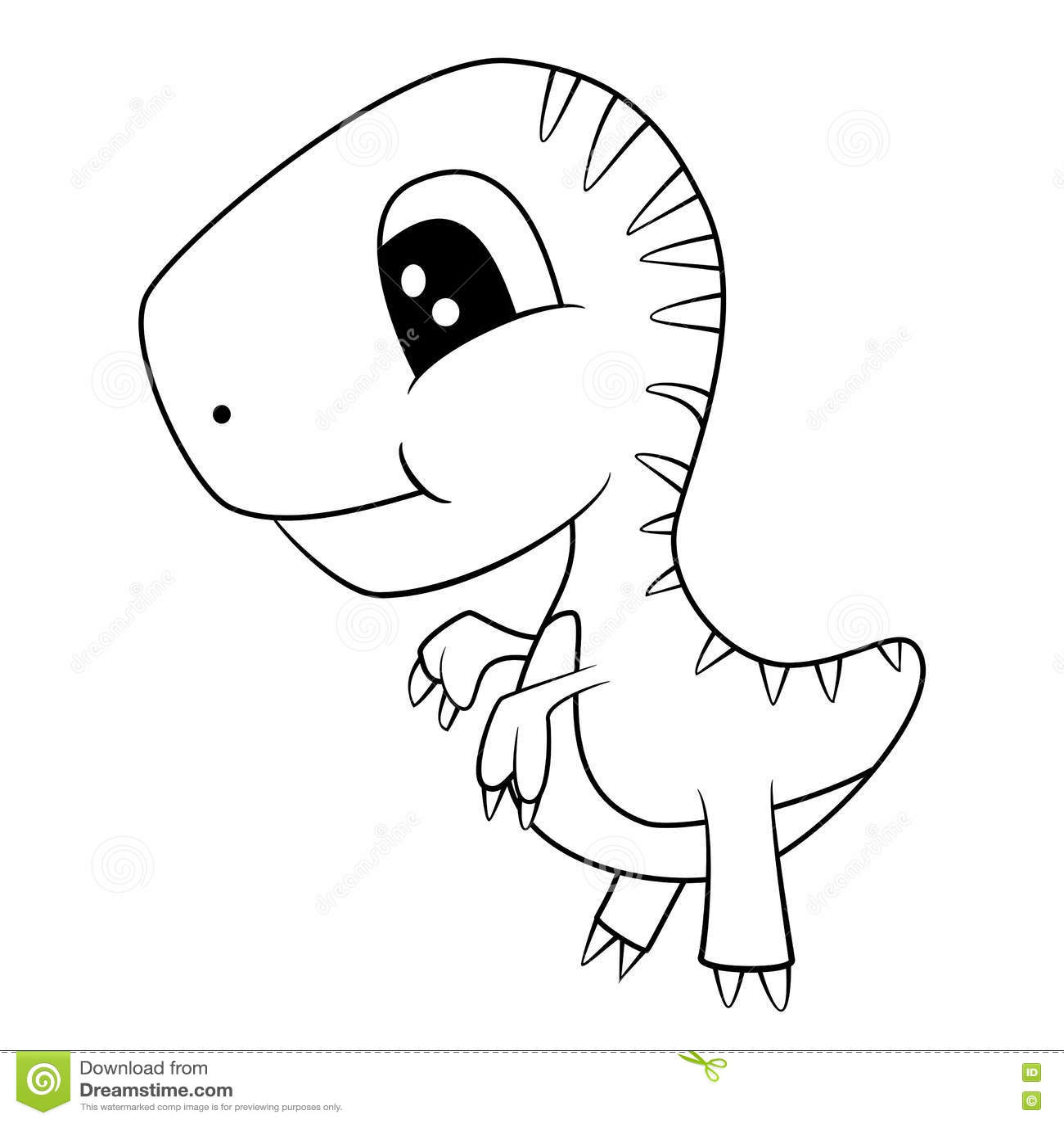 Tyrannosaurus Rex Drawing Easy Spinosaurus Coloring Pages
